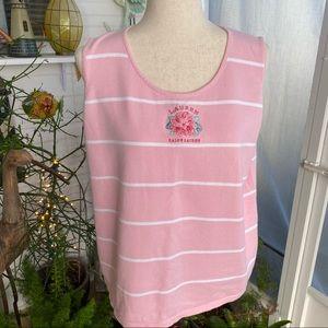 """Ralph Lauren """"LAUREN"""", 1X, pink sweater vest"""
